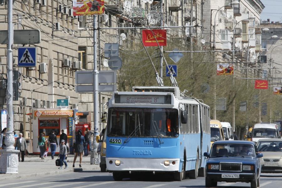 и троллейбусы Волгограда